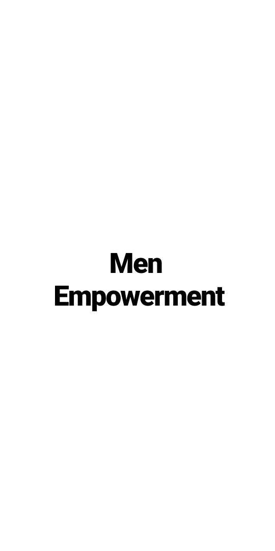 men, empowerment