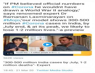 Lockdown, India, Corona, Modi